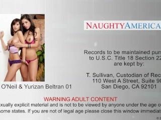 Hotties April O`Neil And Yurizan Beltran Sharing A Big Dick