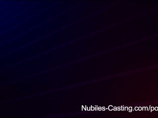 Nubiles Casting – An Unexpected Threesome For Teen Porn Tryout | Threesome.top Porn Tube