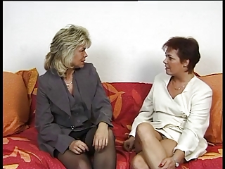2 Hot German Housewives Share A Husband Cock | Threesome.top Porn Tube