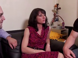 Sexy French Wife Has A Fucking Threesome ! | Threesome.top Porn Tube