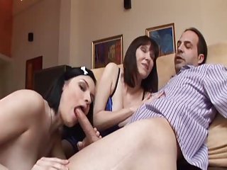 Mother Like Daughter #08 | Threesome.top Porn Tube