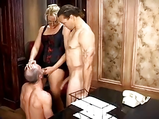 Wife Likes Husband Sucking Cock | Threesome.top Porn Tube