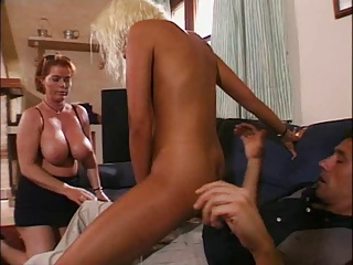 Mother And Girl Sharing A Guy | Threesome.top Porn Tube