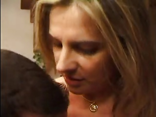 FRENCH MATURE N33 Blonde Anal Mom In Threesome | Threesome.top Porn Tube