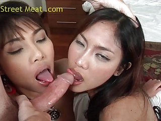 Thai Threesome Noy And On | Threesome.top Porn Tube