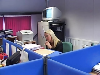 British Slut Jane Berry Gets Fucked In The Office | Threesome.top Porn Tube