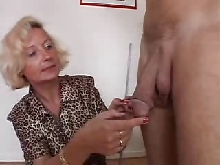 Italian Granny Enjoys 2 Cocks | Threesome.top Porn Tube
