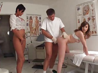 The Doctor Is A Horny Goat | Threesome.top Porn Tube