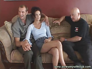 Brunette Wife On Threesome | Threesome.top Porn Tube