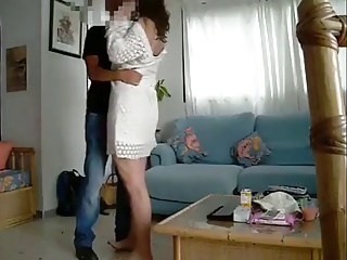 Amateur Wife Shared With Friend (censored Faces)