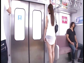 Cute Girl Has Been Naughty In The Train | Threesome.top Porn Tube
