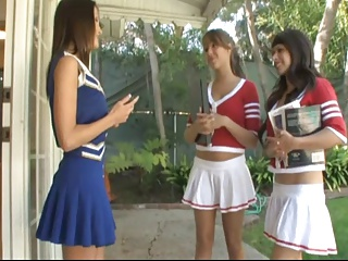 Seducing A Cheerleader. | Threesome.top Porn Tube