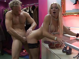 British Slut Syren Sexton And Her Friend Fuck In A Shop | Threesome.top Porn Tube