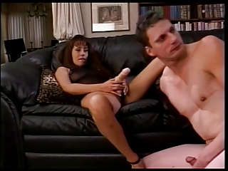 Dominatrix Fucks White Guy With Strap-on While Sucking Black Dick | Threesome.top Porn Tube