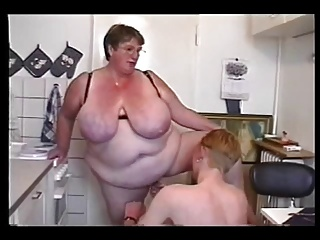 BBW Threesome #6 (FAT Granny & Two Young Guys) | Threesome.top Porn Tube