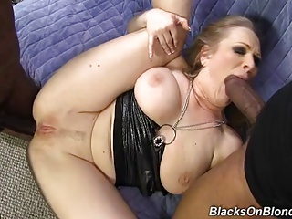 Vicky Vixen Double Penetrated By Monster Black Cocks