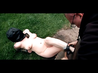 Outdoor BDSM Torments Humiliation Of Chained Slave Olivia | Threesome.top Porn Tube