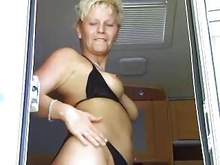 A Camping Trip With A Blonde Slutty Mature | Threesome.top Porn Tube