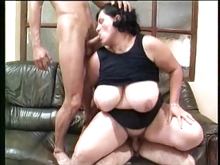 Olga (German Brunette BBW) (BBW Gets Screwed By Two Guys) | Threesome.top Porn Tube