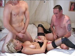 British MILF Sophie Threesome | Threesome.top Porn Tube