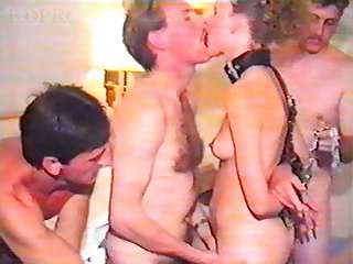 British Slut Wife In Hotel Gangbang