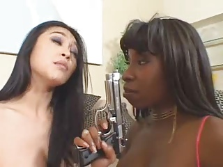 Sexy Black-Asian -Threesome – By TLH | Threesome.top Porn Tube