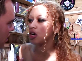 Beautiful Black Girl Loves To Get Fucked Hard In The Ass By Big White Dicks | Threesome.top Porn Tube