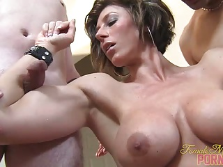 Mistress Amazon Muscle Worship | Threesome.top Porn Tube