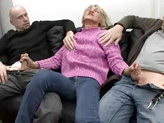 Horny Insatiable Granny Is A Total Cum Slut ! | Threesome.top Porn Tube