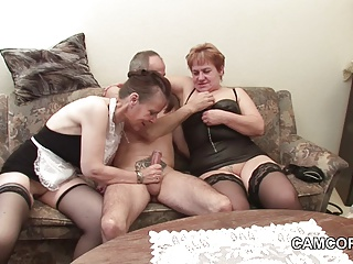 German Old Grandpa And Grandpa In Privat Amateur Threesome | Threesome.top Porn Tube