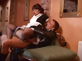 Kinky British Maid | Threesome.top Porn Tube