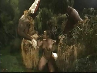 Tribal Threesome With A White Girl | Threesome.top Porn Tube