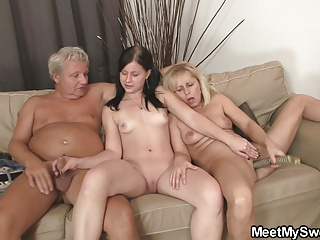 Old Couple With Teen | Threesome.top Porn Tube
