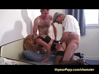 Voyeur Papy Has Realy Fun This Weekend   Threesome.top Porn Tube