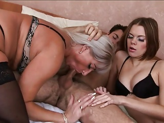 Mom And Not Daughter With Her Boyfriend Who Fuck Them All | Threesome.top Porn Tube
