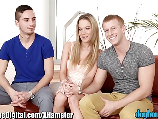 DogHouse Bisexual Couple's First Guy | Threesome.top Porn Tube