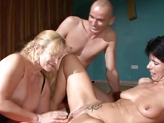 German Matures Sharing A Cock | Threesome.top Porn Tube