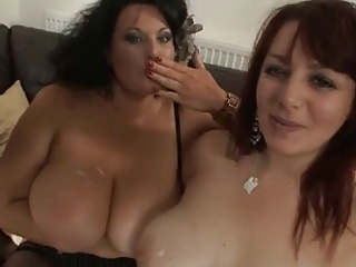 Two Hot Mautre BBW Enjoying A BBC | Threesome.top Porn Tube