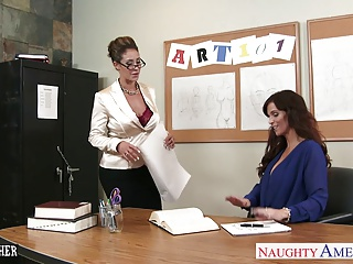 Sex Teachers Eva Notty And Syren De Mer Sharing A Large Dick | Threesome.top Porn Tube