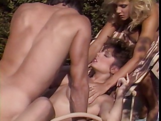 Christy Canyon & Ginger Lynn FFM | Threesome.top Porn Tube
