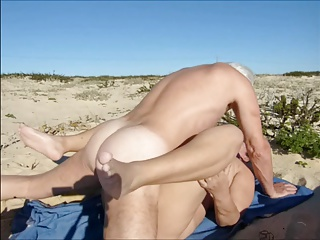 Silver Stallion Beach Sex With Juicecouple | Threesome.top Porn Tube