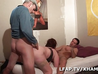 Grosse Rouquine Sodomisee Par Max Et Papy | Threesome.top Porn Tube