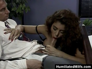 Office Double Penetration For Busty Milf | Threesome.top Porn Tube