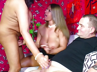 Not Mom And Not Dad Seduce Young Step-daughter To Threesome | Threesome.top Porn Tube