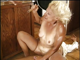 Granny Kathy Needs The Prune Juice Boys To Knock It Loose | Threesome.top Porn Tube