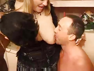 French Mature BBW Analized In A 3some