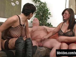 German Milfs Fucking A Horny Dude | Threesome.top Porn Tube