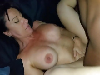 Amateur Wife Fucked By Her Two Black Friends