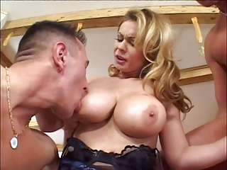 Milf With Big Boobs Threesome | Threesome.top Porn Tube