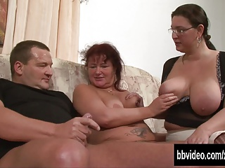 Fat German Milfs Sharing Cock | Threesome.top Porn Tube